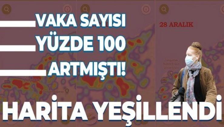 Koronavirüs vakaları yüzde 100 artmıştı! Zonguldak'ın risk haritası yeşile döndü!
