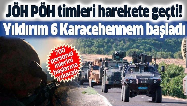 Son dakika: Bingöl'de Yıldırım-6 Karacehennem operasyonu başlatıldı