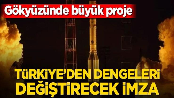 Türkiye'den dengeleri değiştirecek imza! Türksat 6A...