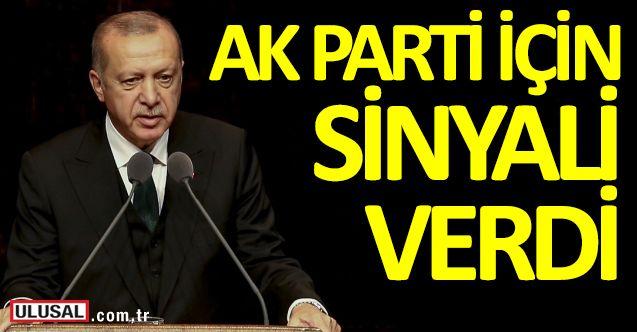 Üye sayısını açıklayan Erdoğan, AK Parti için sinyali verdi