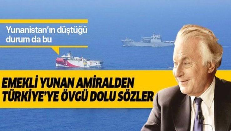 """Yunanistan'ın eski deniz kuvvetleri komutanı Türkiye'nin Oruç Reis hamlesini """"zekice"""" olarak değerlendirdi"""
