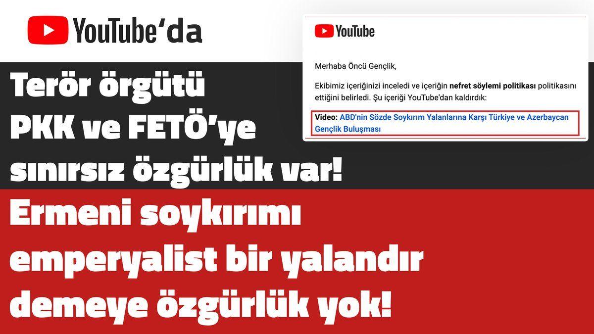 """""""Ermeni Soykırımı Emperyalist Bir Yalandır"""" Diyen TGB'nin Hesabı Kapatıldı!"""