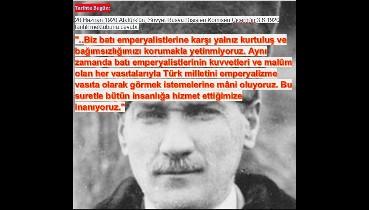 """Gazi Mustafa Kemal'dan Çiçerin'e tarihi yanıt: """"Batı emperyalistlerinin..."""""""