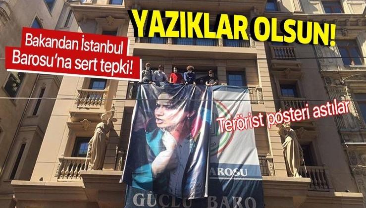 İçişleri Bakanı Süleyman Soylu'dan Ebru Timtik'in posterini asan İstanbul Barosu'na tepki