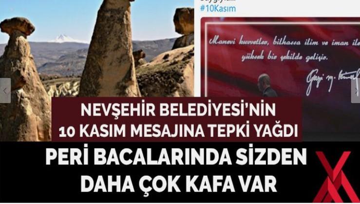 Bir Nevşehir Belediyesi'nin bir de Rusların 10 Kasım mesajına bakın