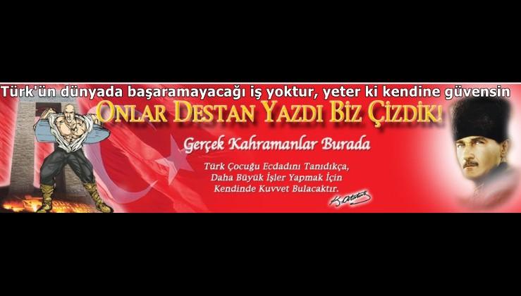 Türk'ün dünyada başaramayacağı iş yoktur, yeter ki kendine güvensin