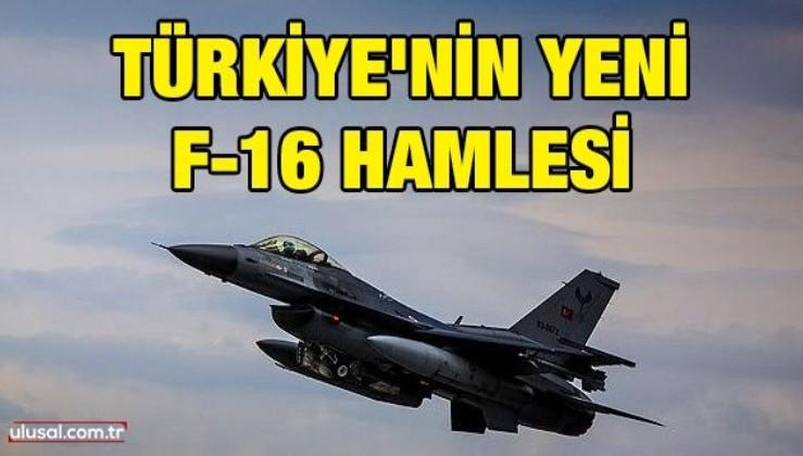 Türkiye'nin yeni F-16 hamlesi