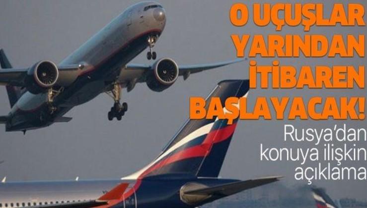 Ekonomimize can suyu: Rusya'dan Antalya, Bodrum ve Dalaman uçuşları başlıyor