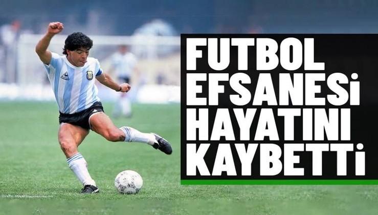 Son dakika: Arjantinli futbol efsanesi Diego Armando Maradona hayatını kaybetti