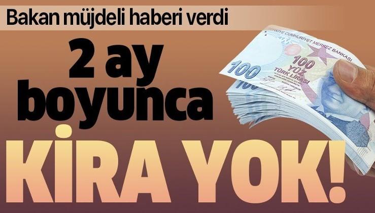 Son dakika: Sanayi ve Teknoloji Bakanı Mustafa Varank açıkladı: O işletmeler 2 ay kira ödemeyecekler