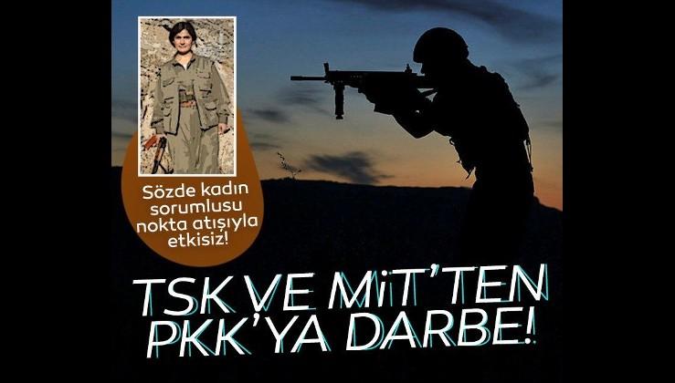 Son Dakika! TSK ve MİT'ten PKK'ya darbe: Sözde kadın sorumlusu SİHA'nın nokta atışıyla öldürüldü