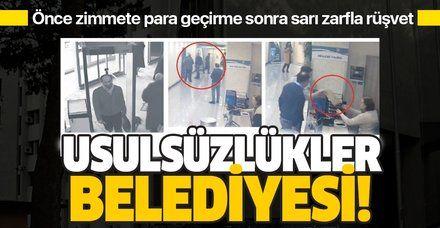 Yalova Belediyesi'nde şimdi de rüşvet skandalı! 50 bin lirayı sarı zarfla...