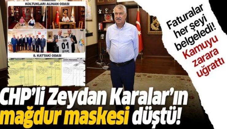 Zeydan Karalar'ın 'haciz mağduru' maskesi düştü