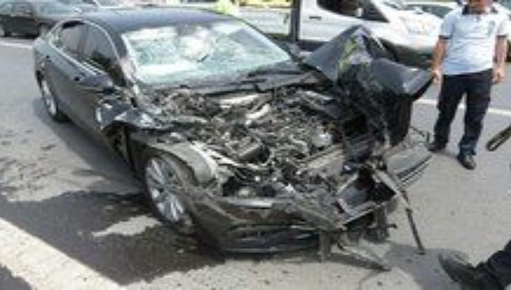 AK Partili vekil kazada yaralandı