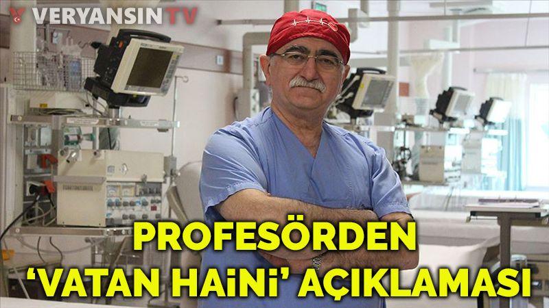 'Aşı olmayan vatan haini' diyen profesörden yeni açıklama