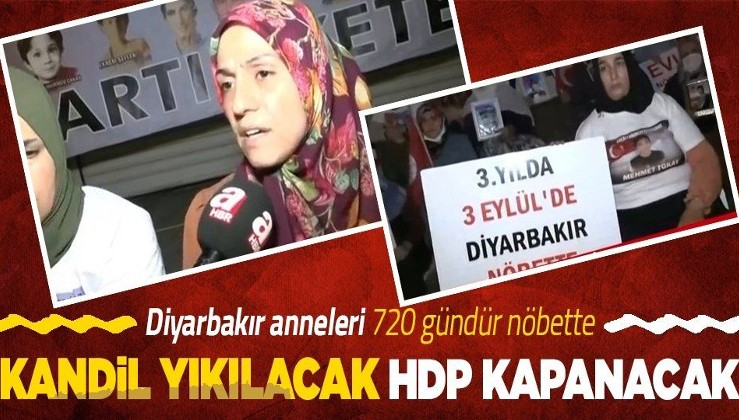 Diyarbakır anneleri 720 gündür nöbette! Artık geceleri de nöbet tutacaklar