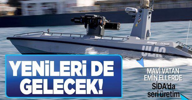 Mavi Vatan'da yeni dönem: Silahlı İnsansız Deniz Aracı 'SİDA'lar seri üretime geçiyor