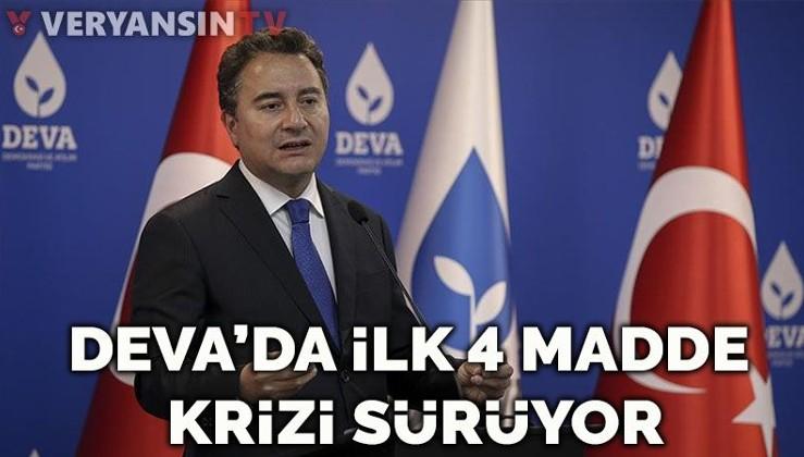 DEVA'da 'ilk 4 madde' krizi… Babacan'ı eleştirince ihracı istenen isimden 'HDP' açıklaması
