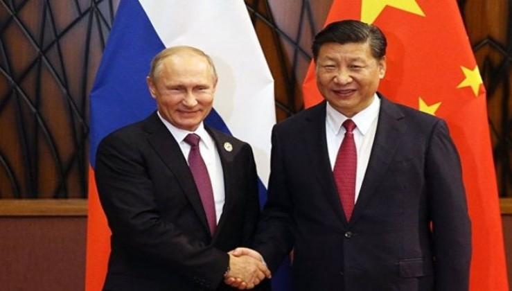 Ruble ve yuan için imza attılar