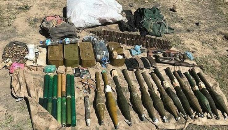 Son dakika: Ağrı Dağı'nda PKK'lı teröristlere ait silah ve mühimmat ele geçirildi