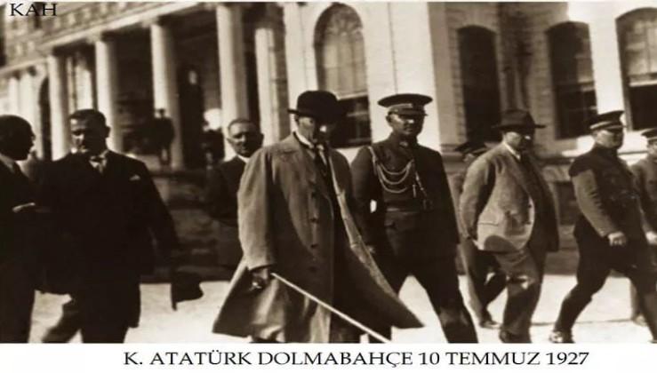 TARİHTE BUGÜN: Atatürk Kurtuluş Savaşı'ndan sonra ilk defa İstanbul'a 1927'de geldi!