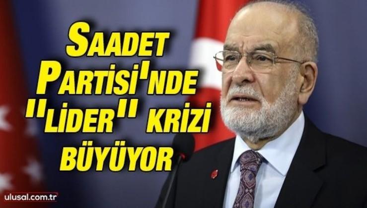 Saadet Partisi'nde liderlik krizi: Oğuzhan Asiltürk ''Milli Görüş Hareketi Lideri'' imzasını kullandı