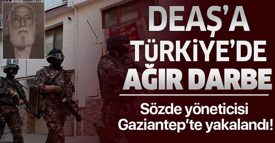 DEAŞ'ın üst düzey yöneticisine Türkiye'de gözaltı: Örgütün sözde liderinin sağ kolu ve DEAŞ kadısı yakalandı