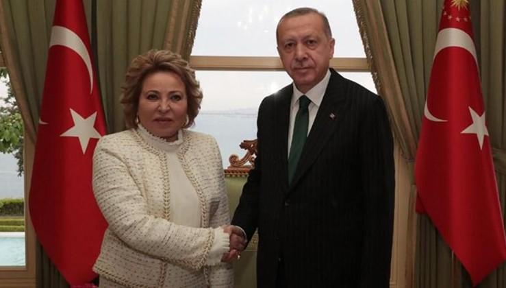 Erdoğan: Büyük baskıya rağmen S-400'ten vazgeçmeyeceğiz
