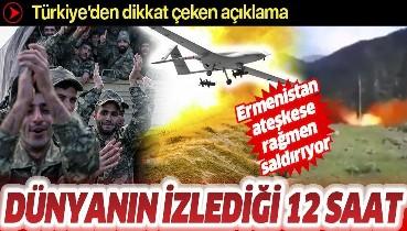 Son dakika: Azerbaycan Savunma Bakanlığı: Ermenistan ateşkesi ihlal ediyor