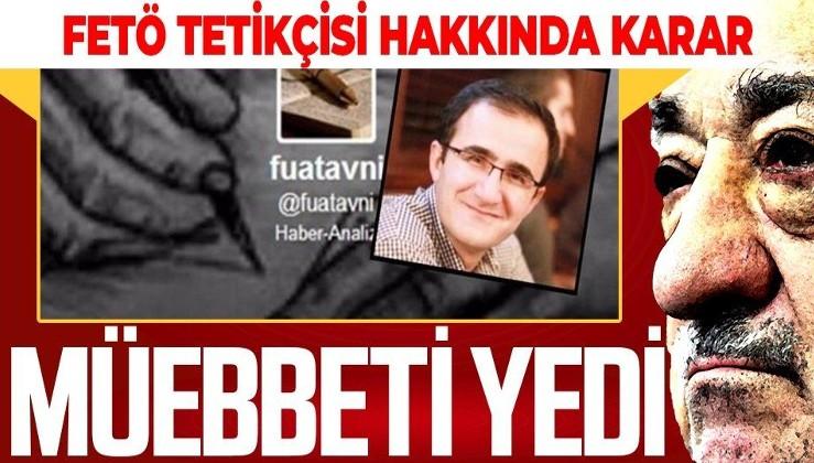 Son dakika: Fuat Avni hesabının kullanıcıları arasında yer alan Mustafa Koçyiğit müebbet hapis cezasına çarptırıldı