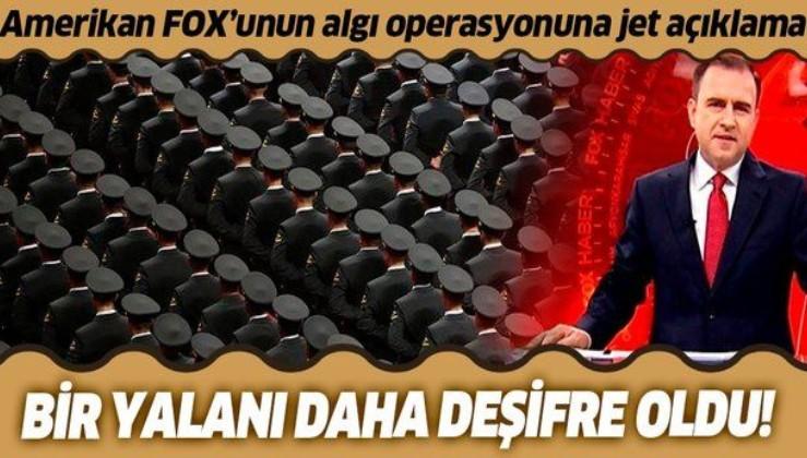 ABD kanalı FOX'un bir algı operasyonu daha çöktü