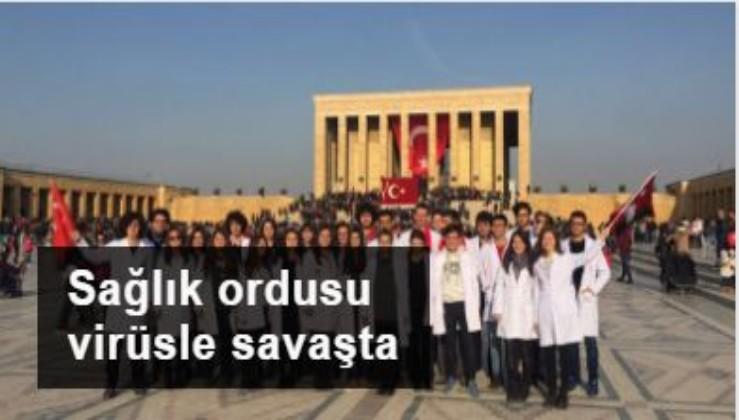 Sağlık ordusu koronavirüs ile savaşta