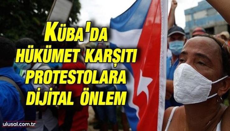 Küba'da hükümet karşıtı protestolara dijital önlem: İnternet ve sosyal medya kullanımına düzenleme