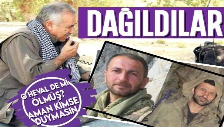PKK resmen dağılıyor! Sözde yöneticilerin operasyonda öldüğü örgüt üyelerinden gizleniyor!