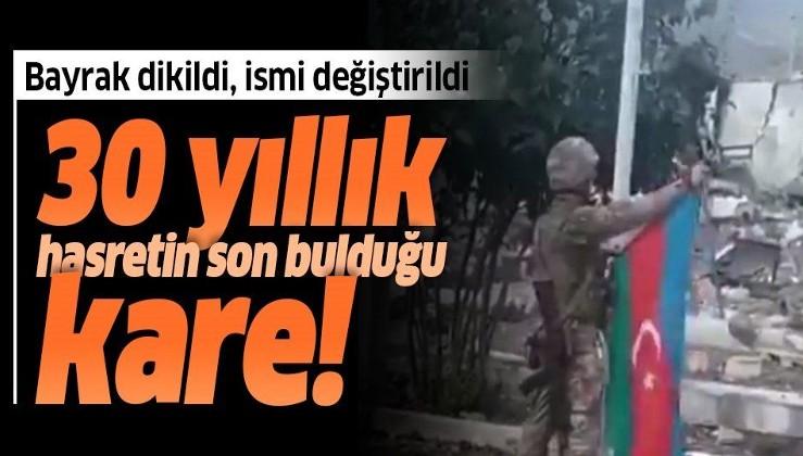 30 yıllık hasret son buldu! Ermenistan işgalinden kurtarılan Magadiz'in adı Sukavuşan olarak değiştirildi!