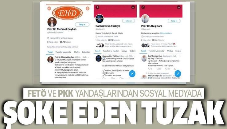 FETÖ ve PKK yandaşlarından sosyal medyada şoke eden tuzak! Bilim Kurulu üyelerinin adıyla...