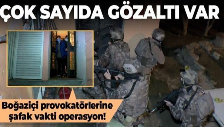 SON DAKİKA: İstanbul'da Boğaziçi Üniversitesi'ndeki olaylara ilişkin yeni operasyon: Çok sayıda kişi gözaltına alındı