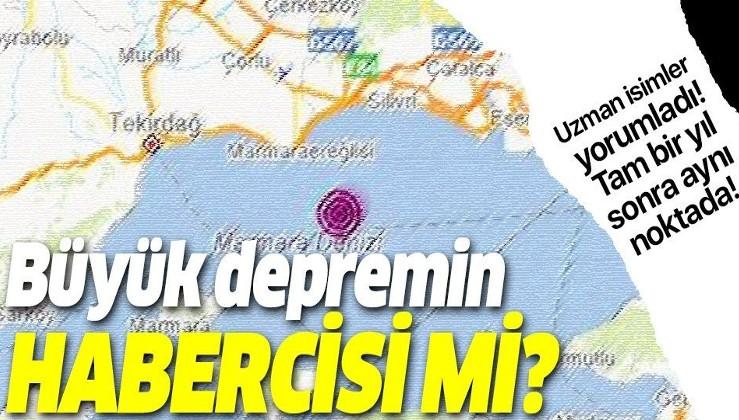 Uzmanlar İstanbul'dan hissedilen depremi yorumladı!