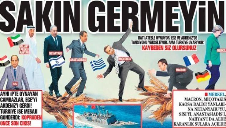 Ege ve Akdeniz'de ateşle oynayan Batılı devletlere Türkiye'den net uyarı: Sakın germeyin kaybeden siz olursunuz
