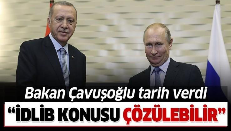 Son dakika: Dışişleri Bakanı Çavuşoğlu: Erdoğan-Putin görüşmesiyle İdlib sorunu çözülür!