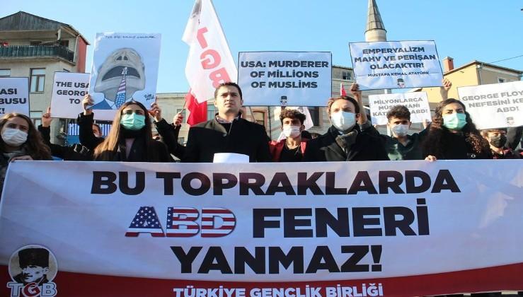 Türk gençliği birinci vazifesini yapıyor: Bu topraklarda ABD'nin feneri yanmaz!