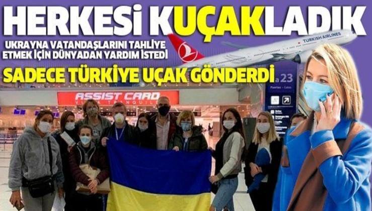 6 ülkenin taşımayı reddettiği Ukraynalılara Türkiye yardım eli uzattı