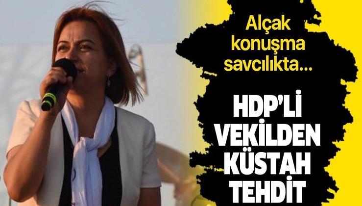 HDP Muş Milletvekili Gülistan Kılıç Koçyiğit'ten küstah sözler.