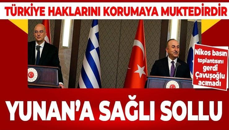 Son dakika! Yunanistan Dışişleri Bakanı Nikos Dendias kışkırttı! Bakan Çavuşoğlu'ndan sert açıklamalar