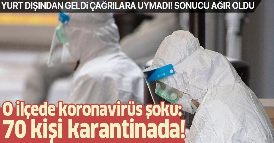Yurt dışından geldiğini sakladı koronavirüsten hayatını kaybetti! O ilçede şok: 70 kişi karantinada.