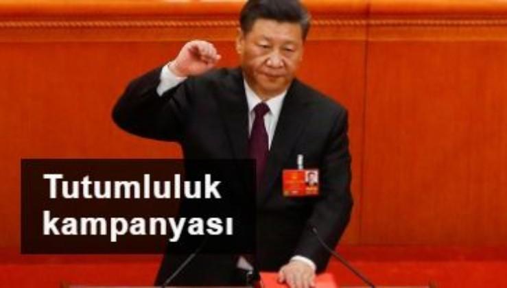 Çin'de Başkan Xi tutumluluk kampanyası başlattı!