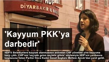 Kayyum PKK'ya darbedir, HDP Kapatılmalıdır