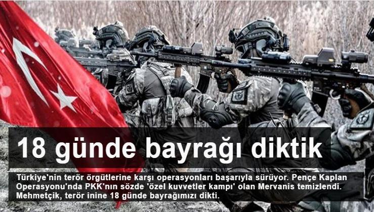SICAK GELİŞME: PKK'nın sözde 'özel kuvvetler kampı' temizlendi