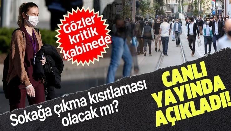 SON DAKİKA: Bilim Kurulu üyesi Prof. Dr. Tevfik Özlü'den flaş açıklama: Sokağa çıkma kısıtlaması olacak mı?