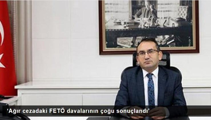 'Ağır cezadaki FETÖ davalarının çoğu sonuçlandı'